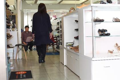 2)姿勢観察・歩行姿勢観察